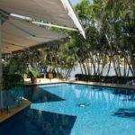 glass pool balustrade