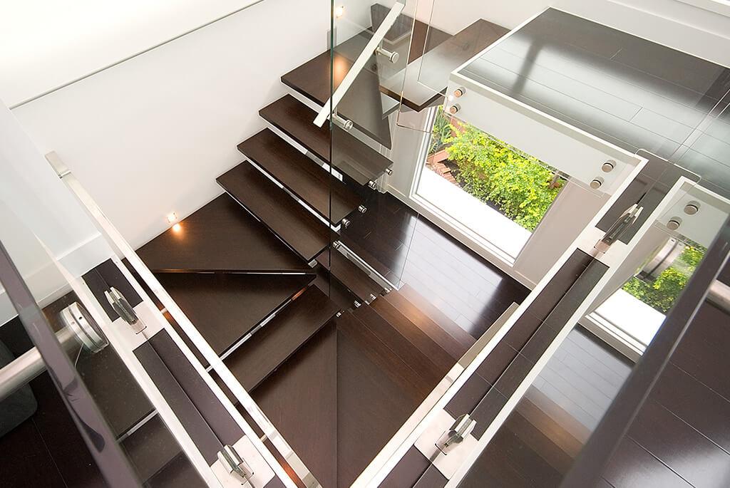 Glass Stair Balustrade Gold Coast