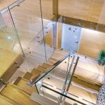 Stair Glass Balustrade Lennox head beach shack