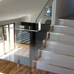 Stairs Glass Balustrade Brisbane